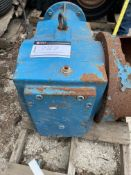 """NOR GEARBOX, HYDRAULIC DRIVEN, 38.92:1; NEEDS REPAIR ON SHAFT; 4"""" INPUT"""