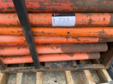 """APPROX 73 1/2"""" x 46"""" SAFETY POST"""