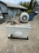 """30 HP; 575V; TRIPLE BOSCH PUMP; 3' X 6' BY 30"""" TANK WITH 1.5 HP CHARGE PUMP; VICKERS HYDRAULIC"""