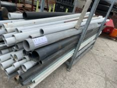 """LOT OF ASSORTMENT OF CONDUIT AND WATER PIPE 3 /4"""" - 8"""""""