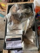 LOT OF PARKER PISTON HOLDERS, LIFT TABLE CYLINDER , RIGGING FEE $