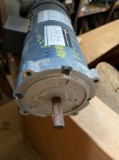 LEESON ELECTRIC MOTOR, 1HP, RPM 1750, 90V, 10AMPS