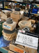 """LOT OF APPROXIMATELY 50 PIECES TIMING PULLEY, RENOWNED 40 SHSB, 1 7/8"""" HOB, DODGE 112871 +112873,"""