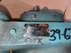 RELIANCE ELECTRIC MASTER XL SPEED REDUCER, 192:1 RATIO, C FLANGE