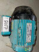 BROOK NAMSEN ELECTRIC MOTOR, 75 HP, 1150 RPM, 575 VOLTS, RIGGING FEE $