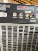 "REFRIGERATOR DRYER, 575 V, PNEUMATECH MOD-ED-25, 150 LB DRYER HAS 2 HP COMPRESSOR IN IT, 2"" PIPE"