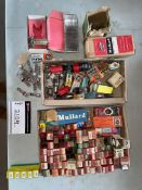 LOT OF VINTAGE VACUUM TUBES FOR RADIOS AND RELATED EQUIPMENT, RIGGING FEE $