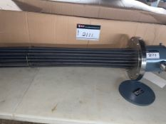 """ASB INLNE HEATING ELEMENT, 480 VOLTS, 3 PH, 35 KW, MO-PFI-56764-ME, HAS 12"""" X 1"""". S/S FLANGE, 8"""