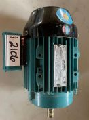 BROOK CROMPTON ELECTRIC MOTOR, HP 0.75, VOLTS 575, 1150 RPM, 1143T, RIGGING FEE $
