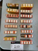 LOT OF VACUUM TUBES FOR A VINTAGE APPLIANCES AND RADIOS, RIGGING FEE $
