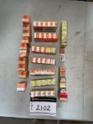 LOT OF OLD-SCHOOL VACUUM TUBES FOR RADIOS AND RELATED EQUIPMENT, RIGGING FEE $