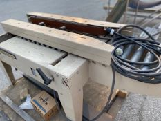 BEMISTAPER TAPING MACHINE FOR CARDBOARD BOXES, 115V, 9.6 AMPS, SINGLE PHASE