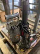 DRILL PRESS, BLACK & DECKER MOTOR, MAGNETIC BASE PART, A MOBILE PRESS,10 AMPS, 120V
