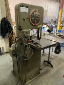 DOALL CONTINENTAL MACHINES INC., VERTICAL BANDSAW, 208V, 3 PHASE, 30 AMPS