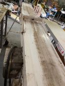 BUCKET CONVEYOR BELT, ROCKWELL AUTOMATION/ ALLEN-BRADLEY, 575 VOLTS, 4.3 AMPS (AS IS WHERE IS) (9'