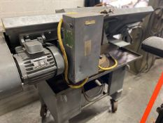 HORIZONTAL BAND SAW (AS IS WHERE IS) 220/240 VOLT, 6/13 AMPS