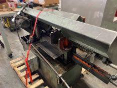 BAXTER, HH ROBERTS MACHINERY, HORIZONTAL BANDSAW 575V