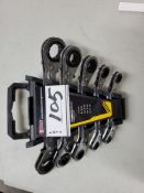 LOT/WRENCH SET, 5PC FULLER BOX WRENCH SET, QTY2 (NEW)