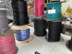 LOT/(13) SPOOLS OF WIRE