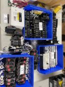 LOT/ABB SWITCHES, 30 MM SELECTOR SWITCH 800H(ALLEN BRADLEY), GE CIRCUIT BREAKERS (2), SQUARE D