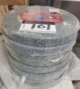 LOT/ (10 PCS) BENCH GRINDING WHEELS