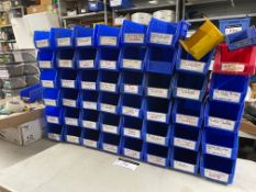 LOT/ (36) SMALL COMMERCIAL/INDUSTRIAL BINS