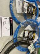LOT/ASSORTED PERFORMANCE STEEL TUBING COILS, 12 PCS