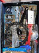 LOT/MACHINE AND DRYER BITS, TRUCKS, AIR CONNECT TO DISCONNECT ETC.