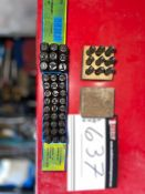LOT OF DRILL BITS, STAMPERS
