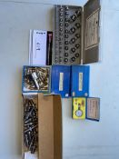 LOT/ BROWN & SHARPE PRECISION MEASURING INSTRUMENTS AND INSPECTION BALLS FURNACE TO MEET ALL