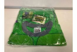 (NO VAT) 37 X OFFICIAL MARVEL BRANDED MERCHANDISE INCREDIBLE HULK PJ'S AGE 5-6