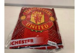 21 X OFFICIAL MANCHESTER UNITED BRANDED MERCHANDISE PJ'S AGE 11-12