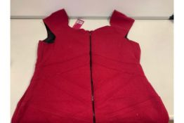 20 X PRETTY POLLY RED TRUNK DRESSES SIZE 14