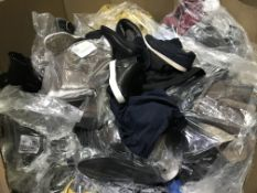 PALLET CONTAINING A LARGE QTY OF CLOTHING / FOOTWEAR IN VARIOUS STYLES / COLOURS / SIZES ( PLEASE