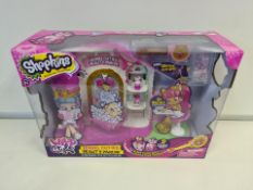 PALLET TO CONTAIN 60 x NEW SHOPKINS KENNEL CUTIES BEAUTY PARLOR LARGE PLAY SETS. RRP £29.99 EACH