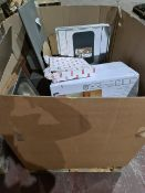 (J25) PALLET TO CONTAIN A QTY OF ITEMS TO INCLUDE: FRANKE TAP, EXTRACTOR HOOD, KITCHEN SINKS ETC