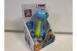 18 X BRAND NEW TOMY STOMP AND ROAR DINOSAURS