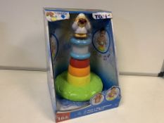 9 X BRAND NEW TOMY STACK AND PLAY LIGHTHOUSES