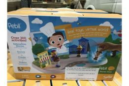 PALLET TO CONTAIN 72 x NEW PEBLI PLAYSET WITH FIGURES (LARGE)