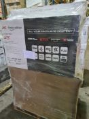 (J115) PALLET TO CONTAIN 12 x VARIOUS RETURNED TVS TO INCLUDE JVC 40 INCH. NOTE: ITEMS ARE