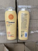 1 x pallet of approx 58 x 12 sun protect lotion. 8 medium. Out of date - 200ml
