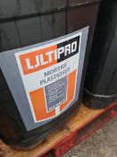 (S112) PALLET TO CONTAIN 12 x 25L ULTIPRO MORTAR PLASTICISER