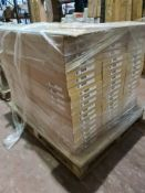 (A5) PALLET TO CONTAIN 54 x NEW 300MM CREAM DOOR PACKS