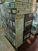 (J177) PALLET TO CONTAIN 22 x VARIOUS RETURNED TVS TO INCLUDE JVC 32 INCH, JVC 40 INCH. NOTE: