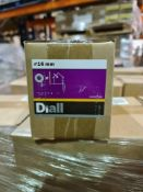 (S24) PALLET TO CONTAIN 70 x NEW 4KG BOXES OF 16MM FLAT WASHERS STEEL. RRP £15 PER BOX