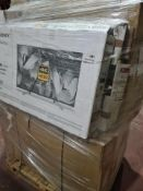 (J104) PALLET TO CONTAIN 12 x VARIOUS RETURNED TVS TO INCLUDE SONY 43 INCH. NOTE: ITEMS ARE CUSTOMER