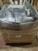 (J169) PALLET TO CONTAIN 25 x VARIOUS RETURNED TVS TO INCLUDE SHARP 24 INCH. NOTE: ITEMS ARE
