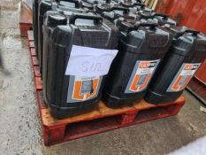 (S113) PALLET TO CONTAIN 12 x 25L ULTIPRO MORTAR PLASTICISER