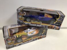 PALLET TO CONTAIN 96 X BRAND NEW BOXED TEAM POWER EXTREME RACER - FRICTION POWER WITH SOUNDS.