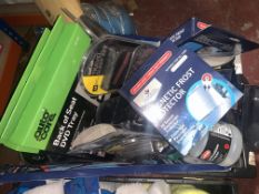 54 PIECE MIXED LOT INCLUDING MAGNETIC FROST PROTECTORS, TRAVEL SLEEP KITS, SPPLICATION SPRAYERS,
